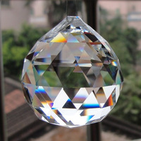Crystal ball for  home decoration Crystal jewelry 40mm 30mm  Crystal bead curtain Guaranteed 100%+Free shipping