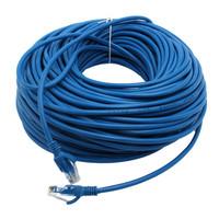 Blue CAT5E CAT5 RJ45 Ethernet Internet Network Patch Lan Cable Cord  50M  choose  83081