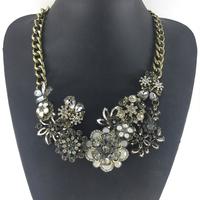 2014 Newest Brand Jewelry Wholesale Chain Chunky Choker Statement Necklace & Pendant Fashion statement Necklace Women 2014