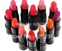 48pcs/lot matte lipstick 12 colors velvet high quality waterproof lip gloss colors big discount free shipping