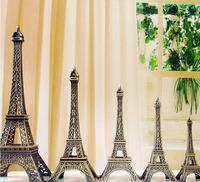 Retail 1359 Zakka Paris Eiffel Tower Metal Model 6 Different Sizes In One Set (CQ)
