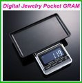 DHL FREE 20PCS NEW 200g x 0.01g Mini Digital Jewelry Pocket GRAM Scale EG2344