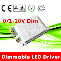 60W 12Vdc constant voltage 0-10v dimmable led driver 1-10v dimming 220V-240vac power supply lighting transformer transformers