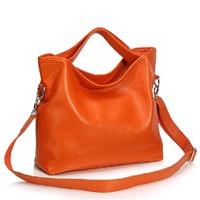 Women's bags fashion trend of the women's handbag genuine leather first layer of cowhide handbag messenger bag female shoulder