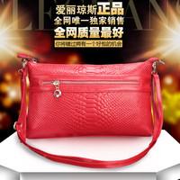 2014 genuine leather day women's clutch handbag women's clutch cowhide cross-body small one shoulder bag messenger bag