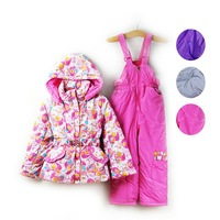 2014 New Arrival Free Shipping 4sets/lot Newest Fashion Top+pants 2pcs set Baby girl spring Suits Baby Costumes 3Colors 4295