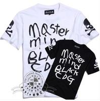 Mastermind MMJ brand men's short sleeve shirt fashion Round neck t-shirt cotton casual tshirt hiphop tshirt unisex FS072