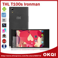 Original THL T100s MTK6592 Octa Core 1.7GHz 5 inch IPS 1920x1080 Android 4.2  Smart 3G Cell Phone 2GB 32GB 13.0MP