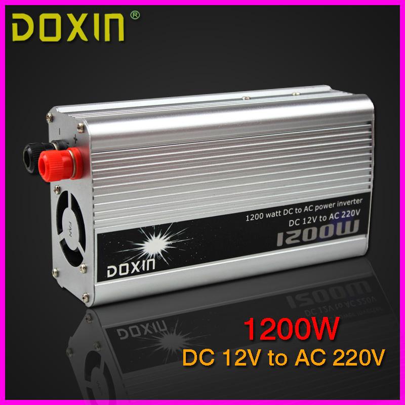 цена  Инвертирующий усилитель мощности DOXIN 1200 DC 12V 220V st/n007  онлайн в 2017 году