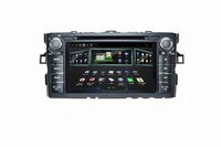 capacitive android 4.0 toyota corolla 2 car dvd player with GPS Navigaition