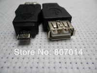 USB 2.0 A Female to Micro B 5 Pin Male Plug Adapter Converter for MP3 Phones  5000pcs