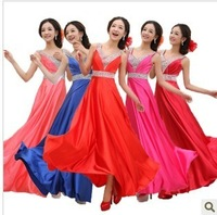 Bridal dress evening annual meeting of company formal dress performance formal dress evening dress formal dress