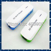 2014 newest 3G Mobile Wireless Router Broadband Power WiFi Hotspot Power Bank 1800mAh New Free Shipping