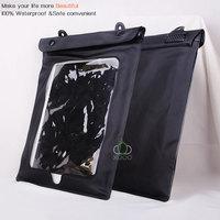 20pcs/lot,new arrival PVC Material waterproof bag for Apple ipad air, with hang rope waterproof  case for iPad air
