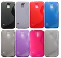 200pcs/Lot For Samsung Galaxy S5 TPU Case,Anti-skid S Line Soft TPU Gel Skin Case for Samsung Galaxy SV S5