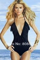 Free Shipping Sexy V Neck Bikini Cool V-neck Swimsuit Hot Lady VS Secret  Bikini 1 set