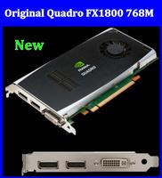 100% Brand New NVIDIA QUADRO fx1800 768MB GDDR3 DVI Dual DisplayPort PCI-e Video Card 3year warrantly