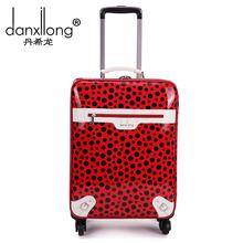 wholesale polka dot luggage