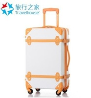 Travel universal wheels trolley luggage bags vintage travel bag universal wheels drag boxes fashion luggage,20 22 24 18 sets
