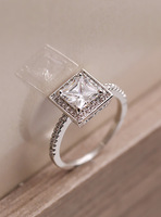 Fall in love diamond ring girls accessories