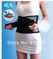 Free shipping 50pcs/LOT  Waist Brace Support Spontaneous Heating Protection waist Magnetic Therapy Belt,waist heating belt
