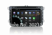 touch screen dvd player for vw passat Android 4. Car DVD Wifi 3G TV PTP Radio Bluetooth SWC