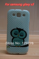 Cute Owl Design Soft TPU Skin Case Cover for Samsung galaxy s3 i9300 Free shippng & wholesale