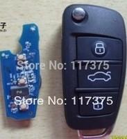 Chery E3  3 button folding remote key control 433mhz