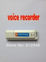 New 2 in 1 ,Mini USB Pen Digital Audio Voice Recorder,with card slot,support micro TF card,free shipping,10pcs