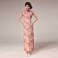 Cheongsam dress summer fashion slim long vintage design chinese style formal dress h-22