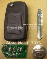 Chery X1 car 2 button folding remote key control 433mhz