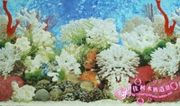 fish tank aquarium decoration accessories wall sticker 50cm free shipping wholesale and retail