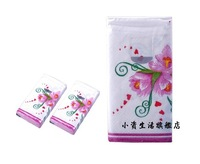 Fashion Printed Facial Tissue handkerchief tissue toilet paper hand wipe paper Printed Paper Napkin (20 packs)