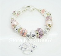 Chamilia charm beads bracelet.High quality fashion bracelets.Women bracelet
