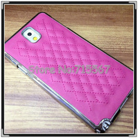 DHL/Fedex Free Shipping For Samsung Galaxy Note III leather Cover case, Luxury leather case for galaxy note 3, 50pcs/lot