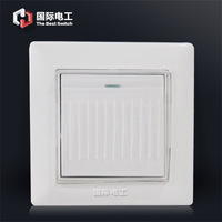 86 waterproof switch establisher white switch panel single switch