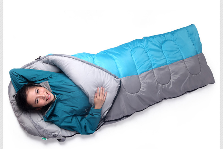 Sleepping Bag,Splicing Double Sleeping Bag Envelope,Hot Selling Outdoor Camping Sleeping Bag,Suitable for Spring,Autumn,Winter(China (Mainland))