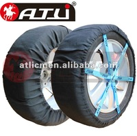 ATLI  Fabric snow chain auto sock snow sock snow tyre for cars in winter
