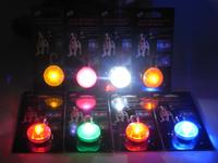 Pet Dog LED Flashing Drop Pendant Night Walk Dogs Safety Caution Glowing Hang Tag Light by EMS 100pcs/lot