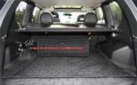 Rear Trunk Black Elastic Mesh Cargo Net 4 Hook Fit For Nissan X-Trail 2008 2009 2010 2011 201 Universal Style