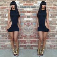 2014 New Arrival ! New Fashion Lady Evening Bandage Dress Empire Waist Spring Sleeveless Slim Fit 10060 Free Shipping