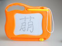 Child mini tablet small magnetic drawing board plate baby supplies toy 1 - 3 years old