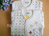 Retail Warm Baby Clothing Sets Boy & Girl Clothes 100% Cotton 2pcs Soft Cloth + Pants Suits for Newborn Baby Free Shipping