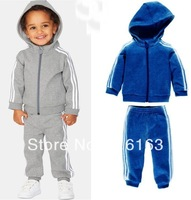 350 New 2013 winter Children's Clothing Baby Clothing Sets boys Long sleeve Sport suits 5sets/lot hot sell