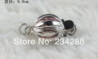 2014 Pearls necklace bracelet buttons material 925 pure silver clasp lantern buckle silver unique diy accessories