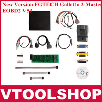 2014 Promotion! Quality A+ New Fgtech galletto 2 master v53 EOBD2 fg tech galletto 3 DHL free shipping
