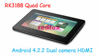 Pipo S1 PRO Tablet PC RK3188 Quad Core 1.6GHz 7 inch HD Screen 1GB RAM 8GB WIFI HDMI Dual Camera From Redfox