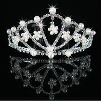 Wedding Flower girls Tiara Jewelry Rhinestone Headpieces ,Bridal Hair Accessories