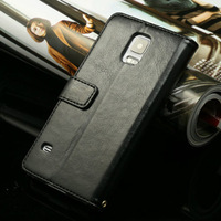 New Arrival Wallet Style Leather Case For Samsung Galaxy S5 i9600 Stand Case Design Mutil Colors Free shipping