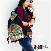 Free shipping! Embroidered travel bag, canvas bag, national bags, women's shoulder bag